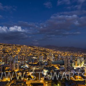 _E3A7188_Bolivien_La Paz_Bei Nacht